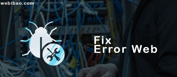 Jasa maintenance website Sidoarjo - fix error