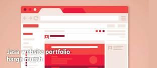 Jasa website portfolio harga murah