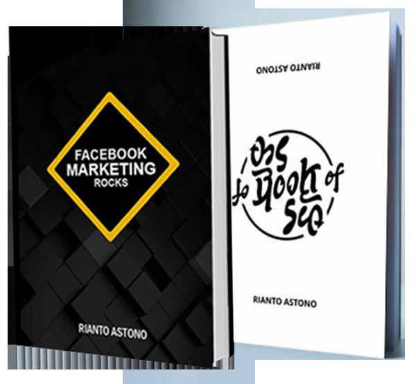 Jual Buku Marketing online Bundle - the Book of seo dan Facebook Rocks