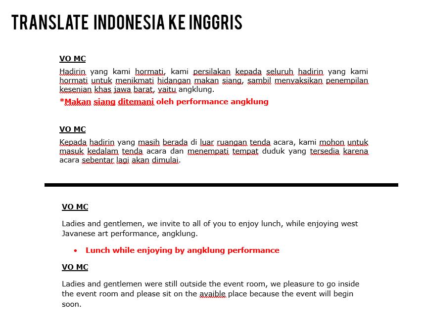 jasa translate indonesia ke inggris client Aulia PT indonesia power